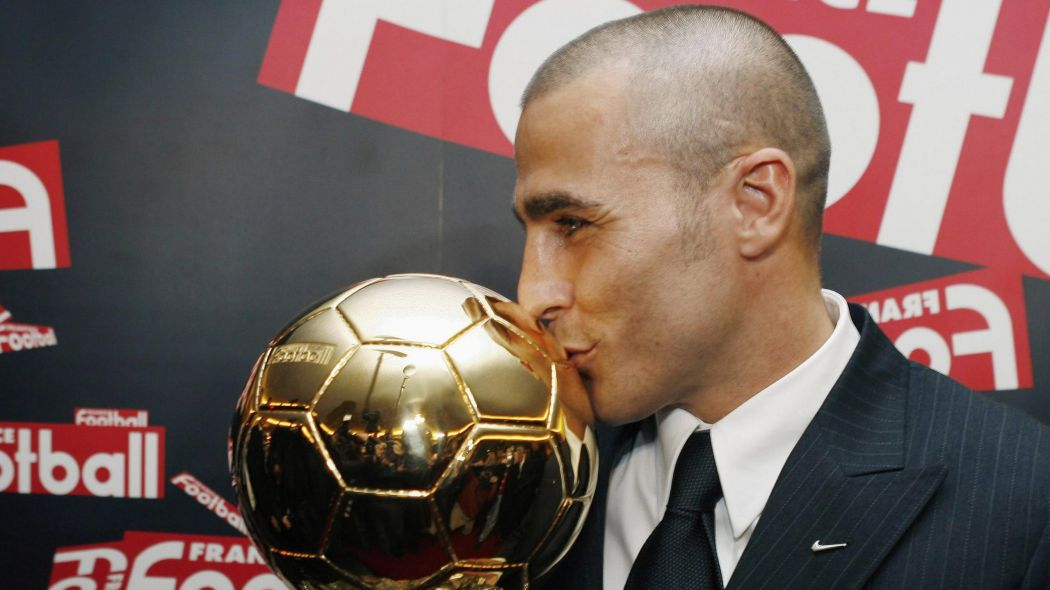 Fabio Cannavaro Ballon d'Or 2006