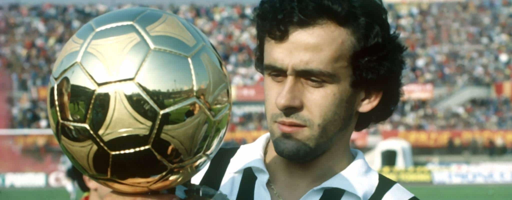 Michel Platini Ballon d'or 1985