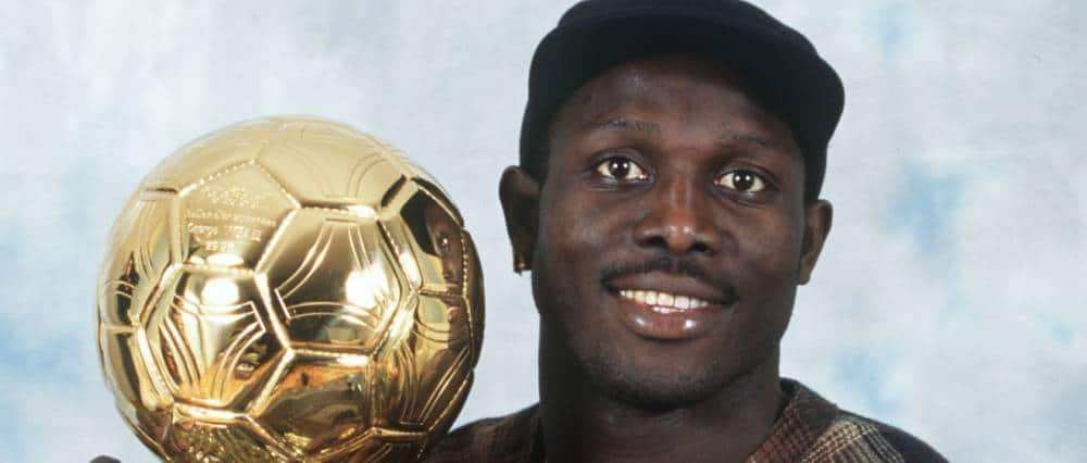 George Weah ballon d'or 1995