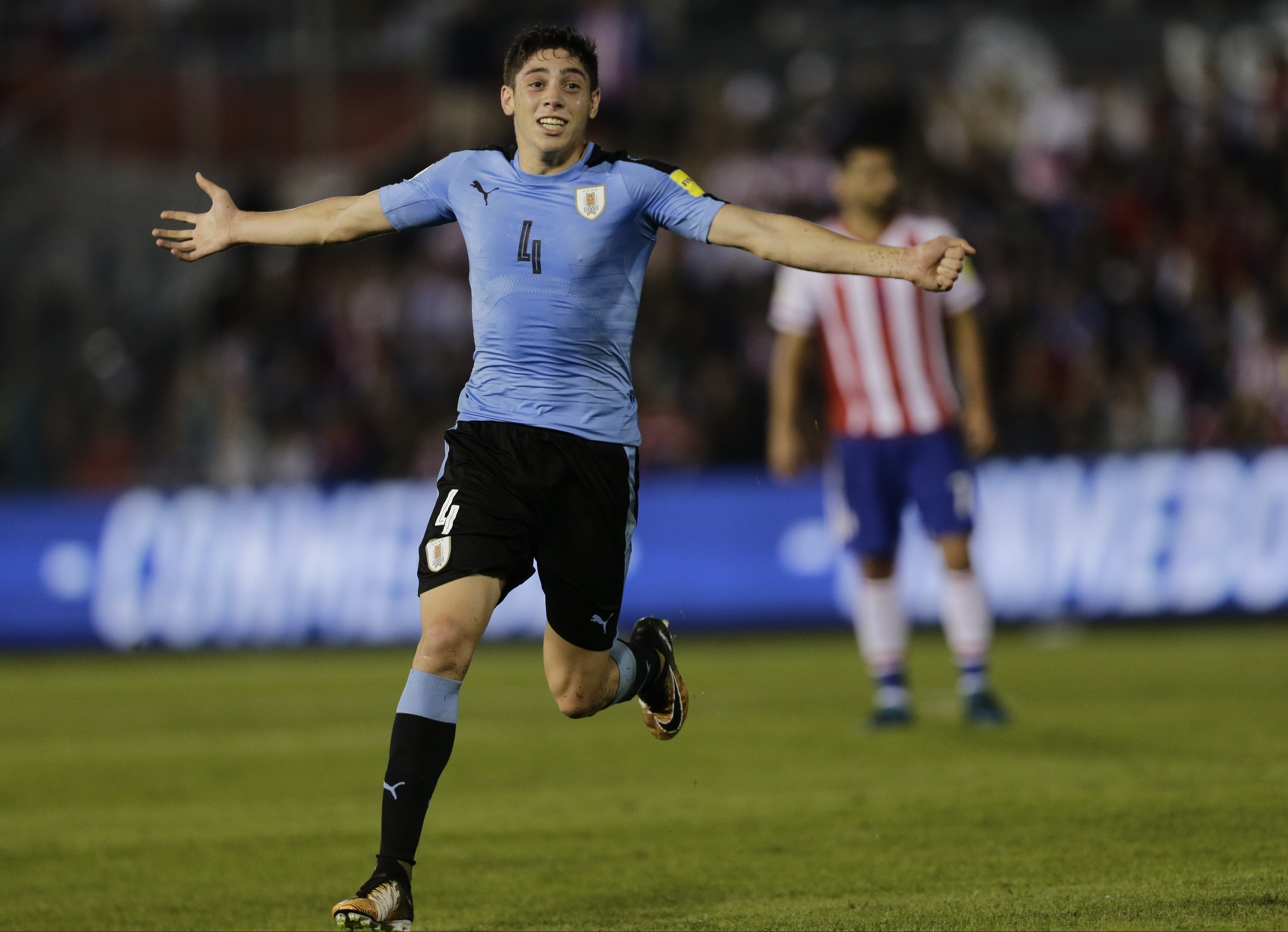 Paraguay Uruguay Wcup Soccer