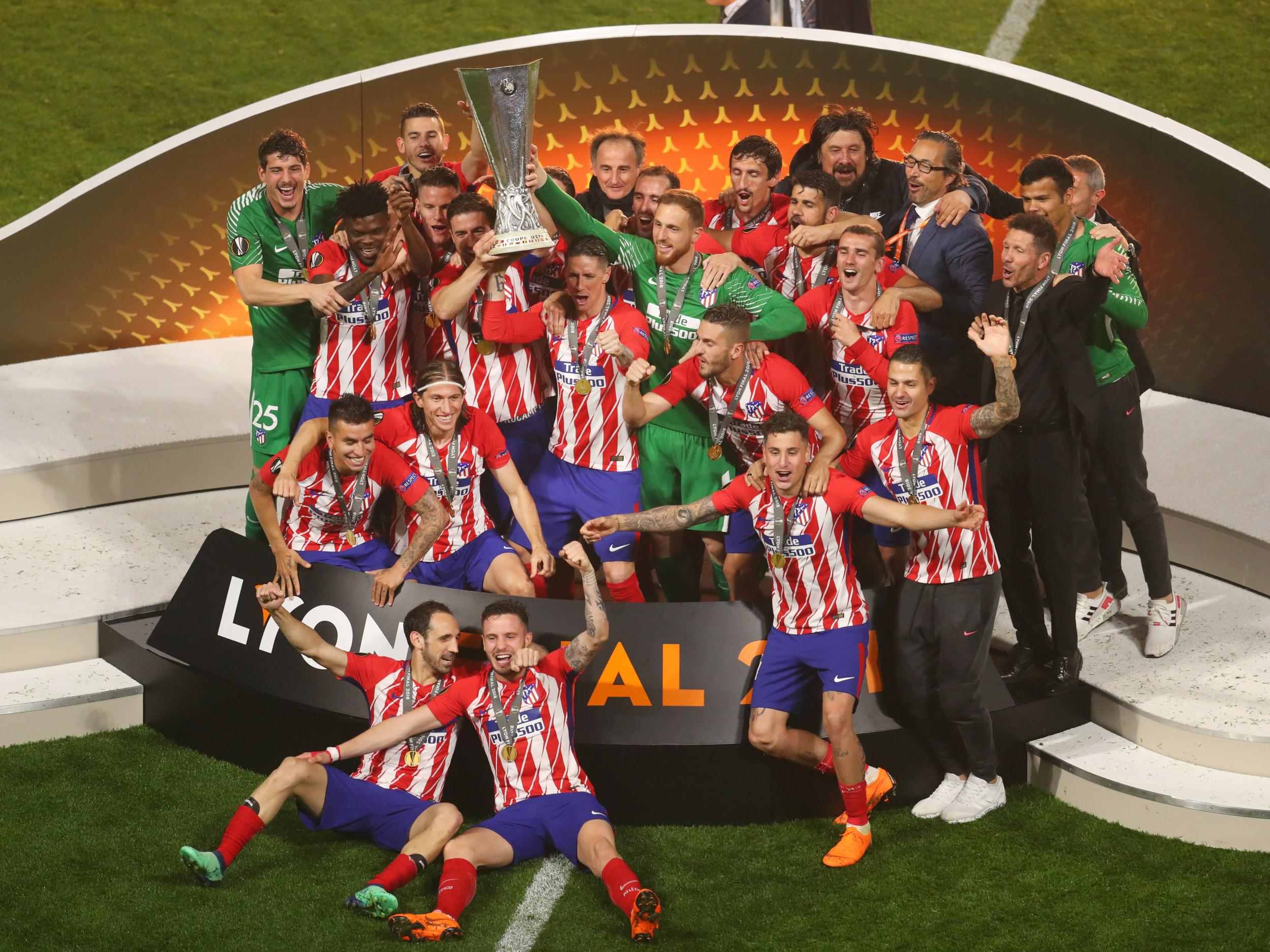 L'Atlético Madrid remporte la Ligue Europa