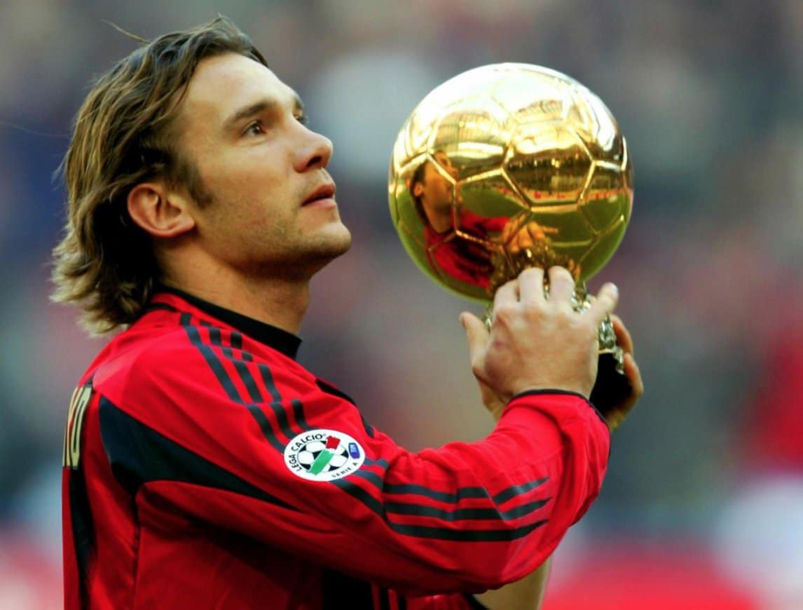 André Chevtchenko ballon d'or 2004