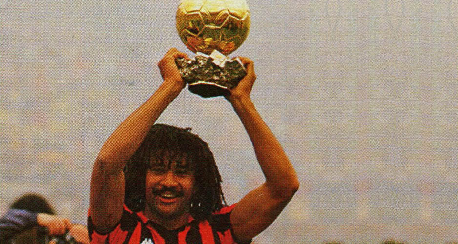 Ruud Gullit ballon d'or 1987