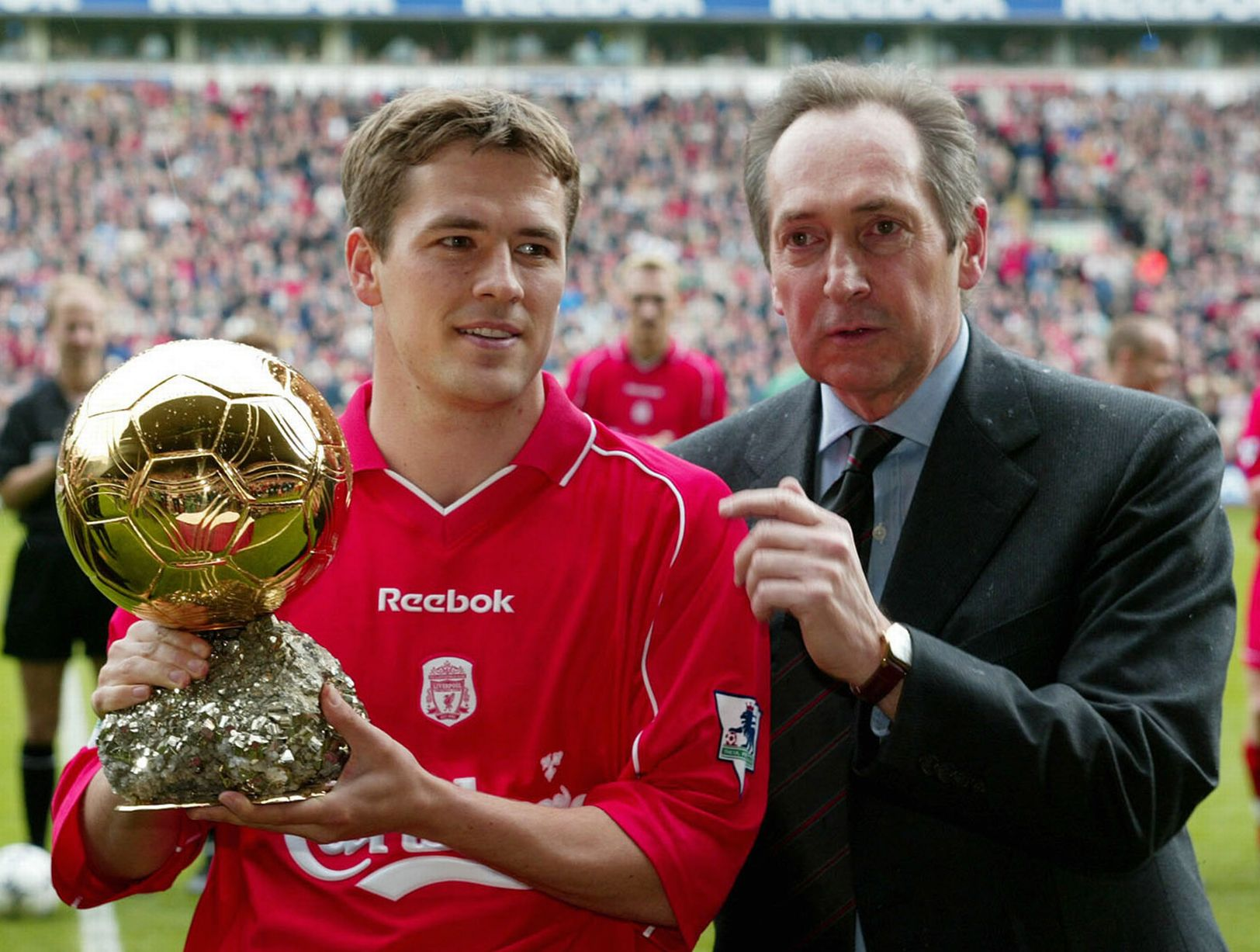 Michael Owen Ballon d'or 2001